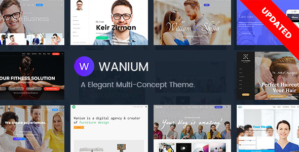 Wanium - A Elegant Multi-Concept Theme - Creative WordPress