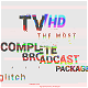 Glitch TV Complete Broadcast Graphics Package - VideoHive Item for Sale