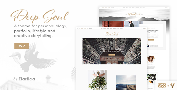 Deep Soul - Lifestyle WordPress Blog & Shop Theme - Personal Blog / Magazine