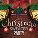 Ugly Sweater Christmas Flyer - GraphicRiver Item for Sale