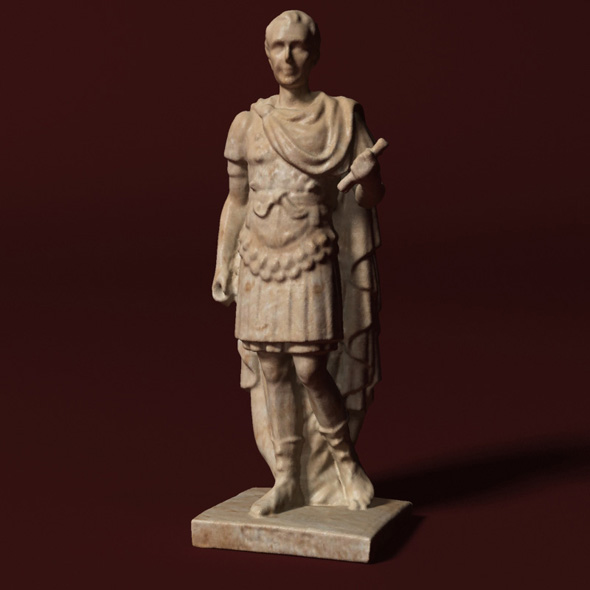 Caesar Statue - 3DOcean Item for Sale