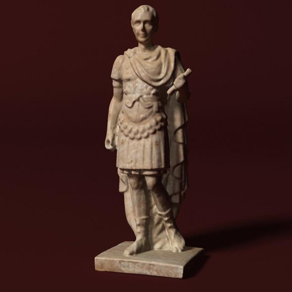 3DOcean Caesar Statue 20821025
