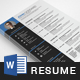 Resume Cover Letter - GraphicRiver Item for Sale