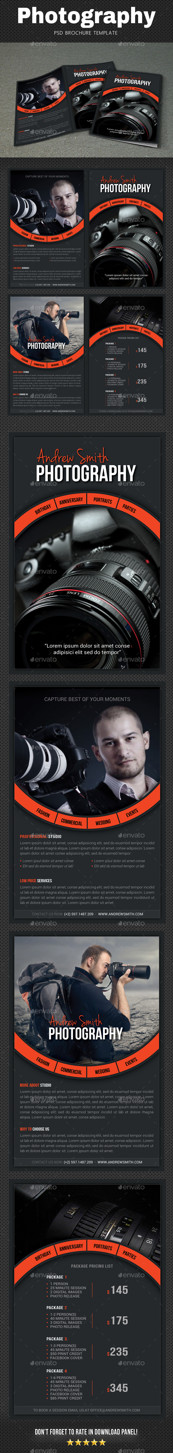 GraphicRiver Photography Brochure 3 20821523