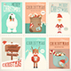 Merry Christmas Posters Set - GraphicRiver Item for Sale