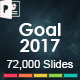 Goal 2017 Powerpoint Presentation Template