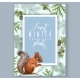 Winter Squirrel Banner - GraphicRiver Item for Sale