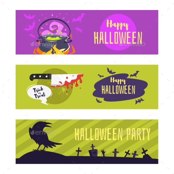 Halloween Banner for Social Media - Halloween Seasons/Holidays