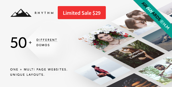 Image of Rhythm | Responsive WordPress Multi-Purpose Theme