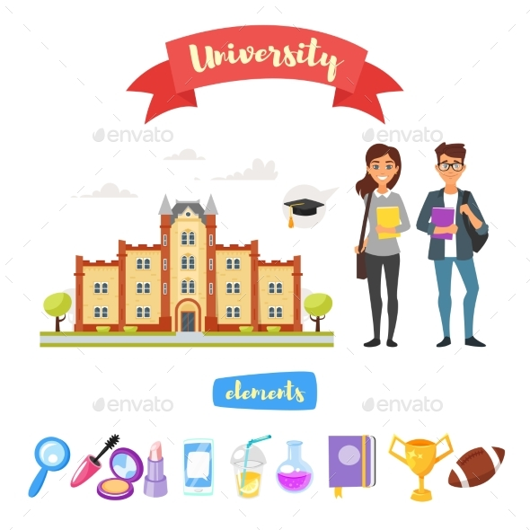 University Set of Elements - Miscellaneous Vectors