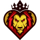 Heart Lion Logo