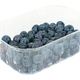 Blueberries in a plastic container on white background - PhotoDune Item for Sale