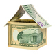 Model house made from dollar banknotes - PhotoDune Item for Sale