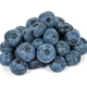 Heap of blueberries on white background - PhotoDune Item for Sale
