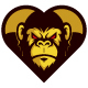 Monkey Heart Logo