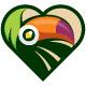 Toucan Heart Logo