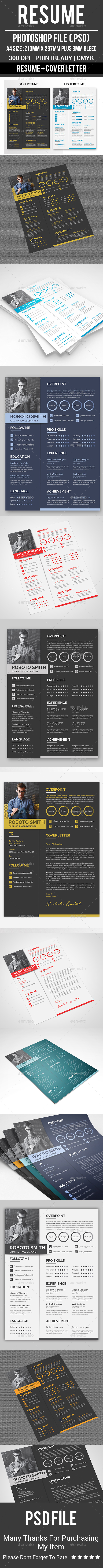 GraphicRiver Resume 20822487