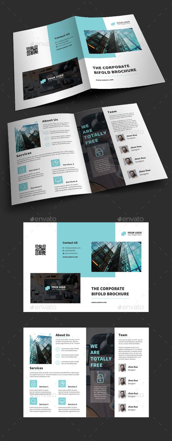 GraphicRiver Bifold Brochure 20822653