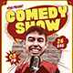 Stand Up Comedy Flyer / Poster Template
