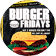 Burger Fridays Flyer Template - GraphicRiver Item for Sale