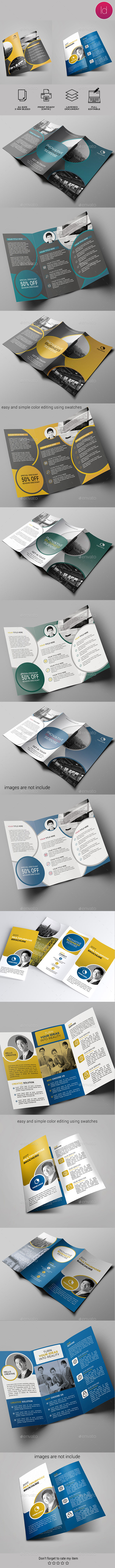 Trifold Bundle - Corporate Brochures