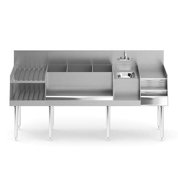 Bar Station - 3DOcean Item for Sale