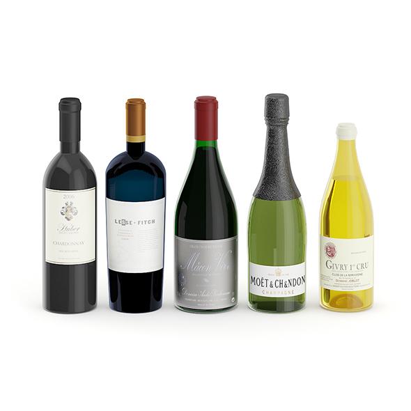 3DOcean Wine Bottles 20823046