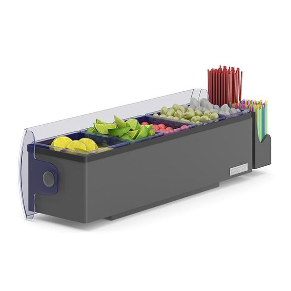 Garnish Tray - 3DOcean Item for Sale