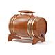 Wooden Keg - 3DOcean Item for Sale