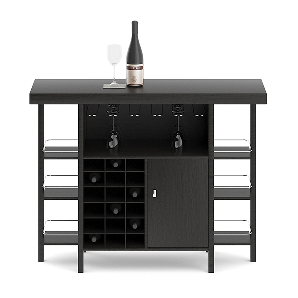 Mini Bar Table - 3DOcean Item for Sale