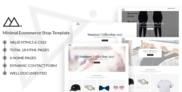 Image of Mira - Minimalist eCommerce Template
