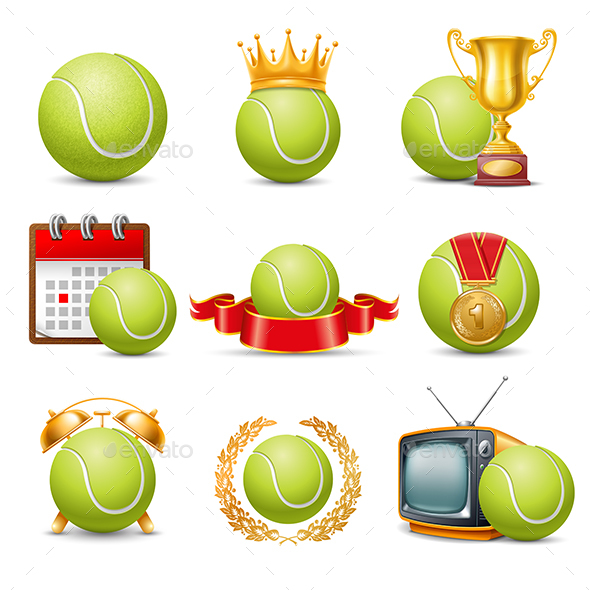 GraphicRiver Tennis Set 20823879