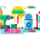 Tools for Repair or Construction Paint and Hammer - GraphicRiver Item for Sale