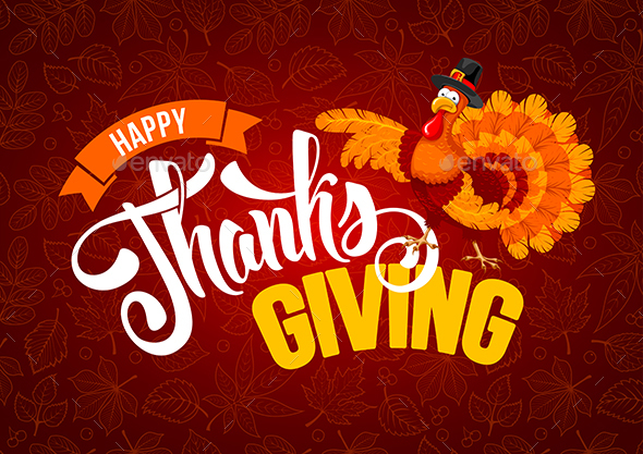 GraphicRiver Thanksgiving Greeting 20823964