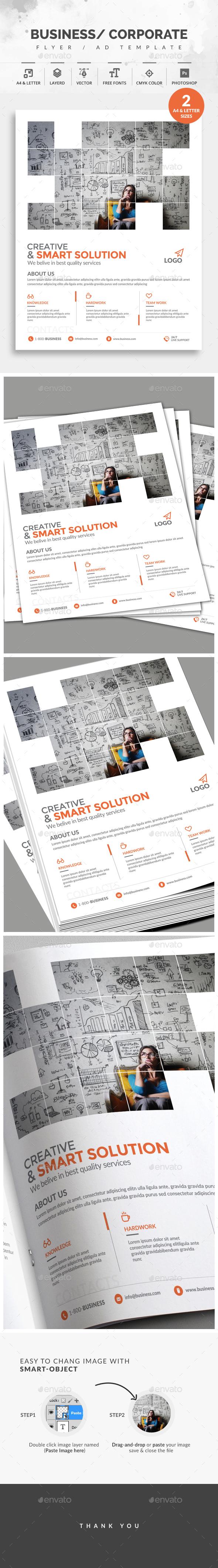 GraphicRiver Corporate Flyer 20823970