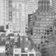 Black and white picture of Manhattan, NYC. - PhotoDune Item for Sale