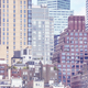 Vintage toned picture of Manhattan buildings, NYC. - PhotoDune Item for Sale