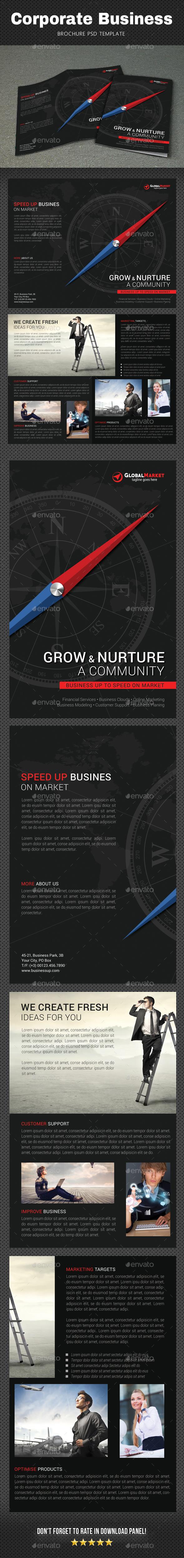 GraphicRiver Corporate Brochure 6 20824344