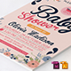 Baby Shower Template - Vol. 17 - GraphicRiver Item for Sale
