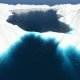 Aerial Fly Over Iceberg and Sea - VideoHive Item for Sale
