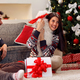 Christmas time- couple opening presents - PhotoDune Item for Sale