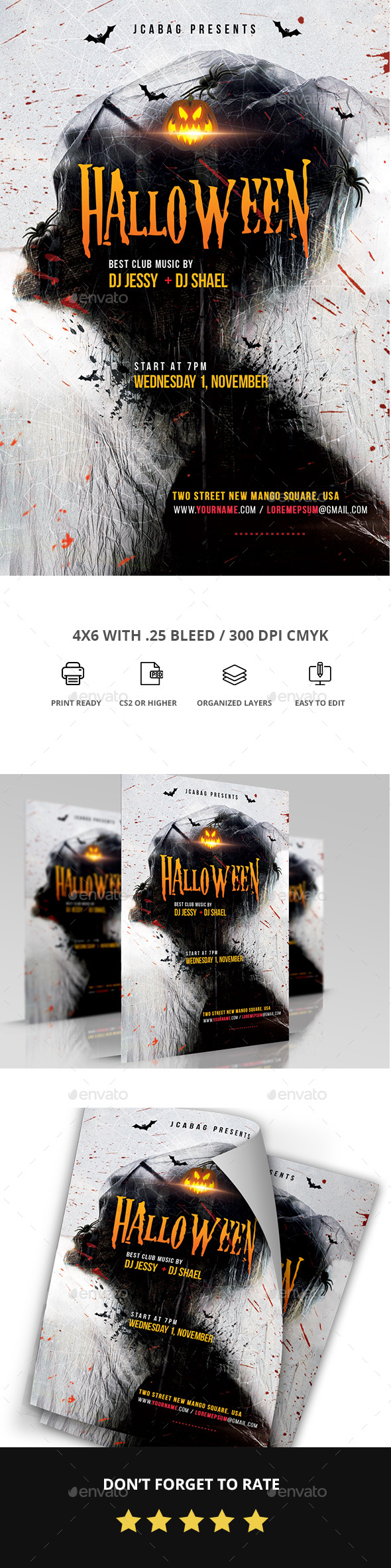 Halloween - Events Flyers
