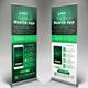 Mobile App Promotion Roll-up Banner