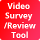 Video Survey / Review Tool (iOS Version) - CodeCanyon Item for Sale