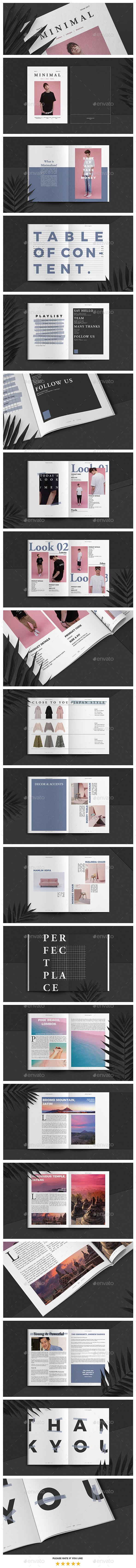 Fashion Lifestyle and Business Magazine - Magazines Print Templates