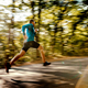 blurred motion male runner - PhotoDune Item for Sale