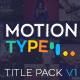 Motion Type - Titles Pack - VideoHive Item for Sale