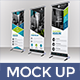 Set of 3 roll up Banner Mockup - GraphicRiver Item for Sale