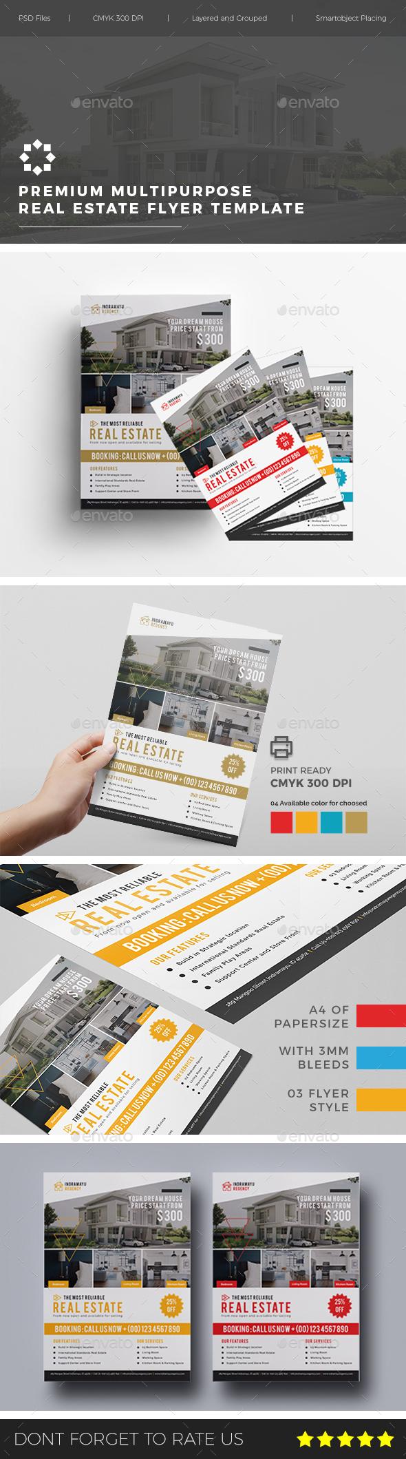 GraphicRiver Multipurpose Real Estate Flyer Vol 01 20826174