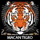 Macan Tigro T-shirt Design - GraphicRiver Item for Sale